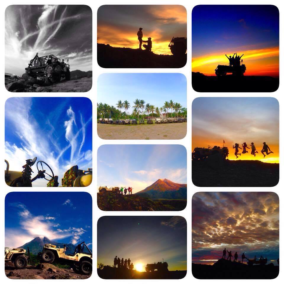 Sunrise Merapi lava tour dengan jeep