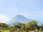 The world landmark Meapi Park Kaliurang Jogja