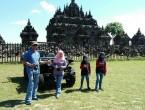 jeep wisata di candi plaosan