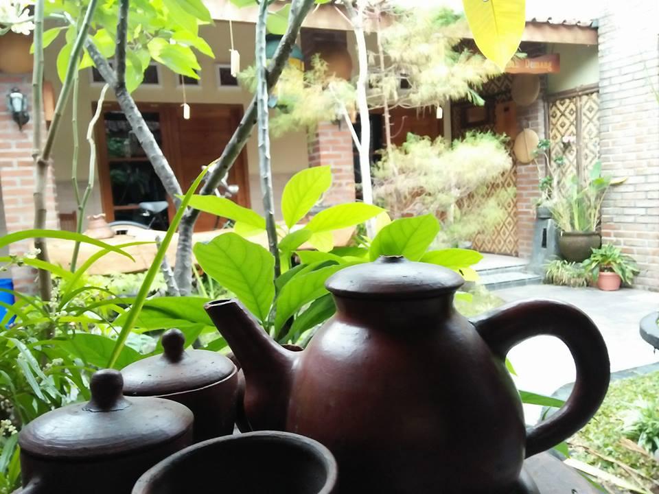 Penginapan ethnik di dekat candi plaosan Prambanan