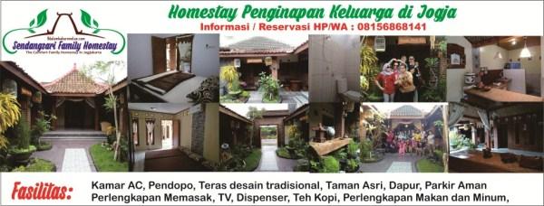 Homestay Penginapan keluarga di Jogja