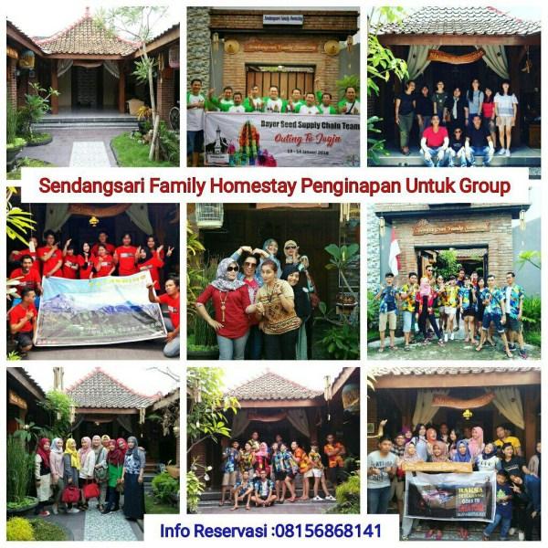 Rumah sewa Harian Jogja untuk keluarga ataupun Rombongan