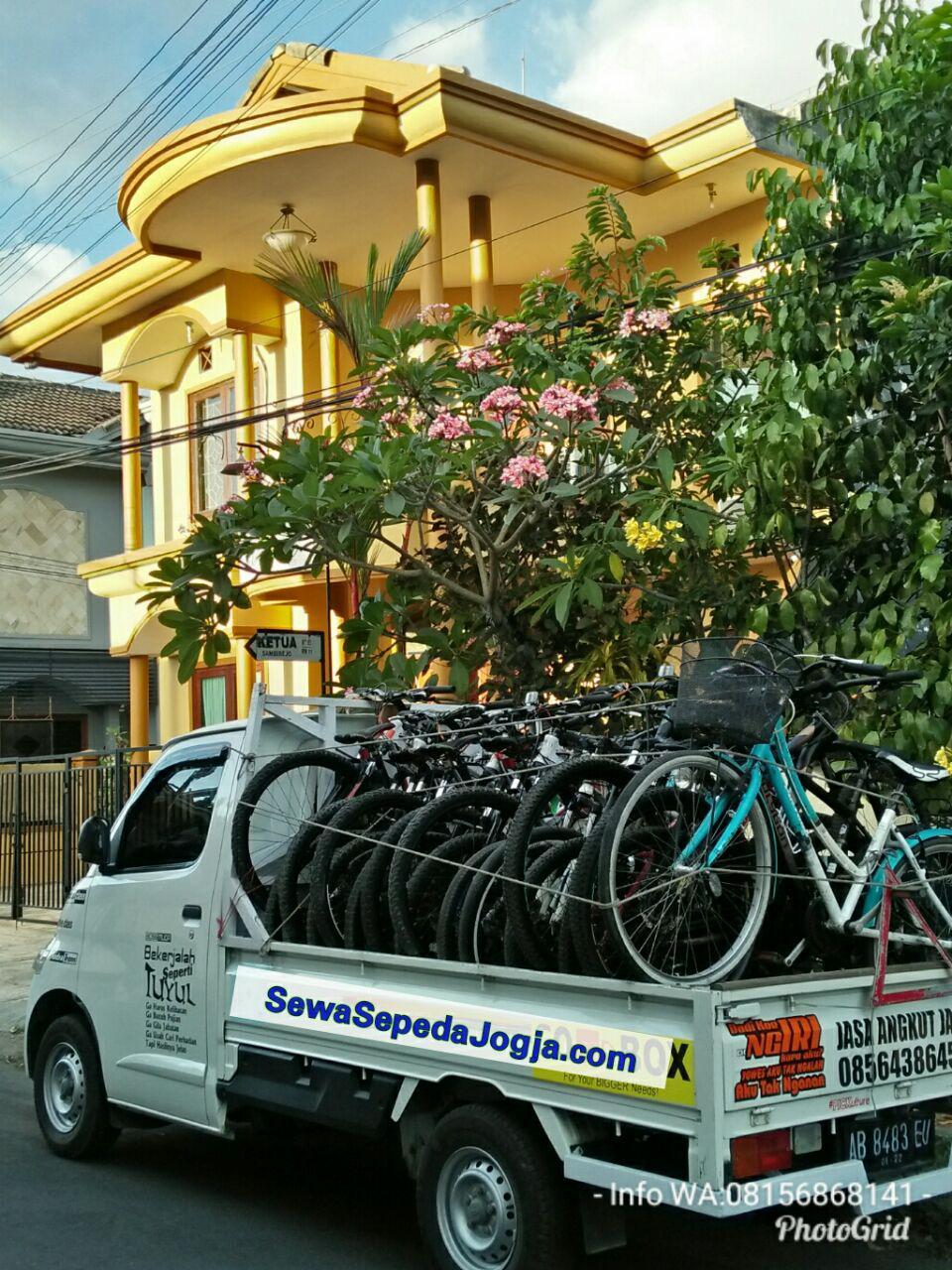 rental sepeda di Jogja